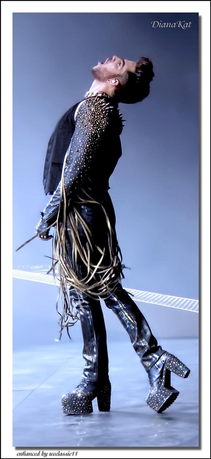 """OMG, TOTALLY AMAZING. """"@weelassie11: An Adam Lambert image by @dianakat13.  Enhanced by weelassie11 """""""