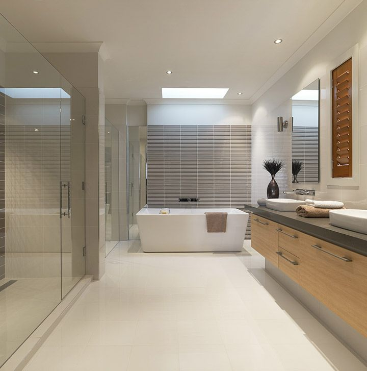 The White Porcelain Tiles Brings Brightness To The Bathroom. The Polished  And Size Of The Part 48