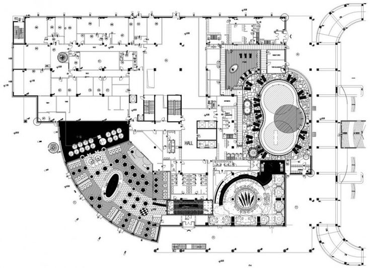 Mirage hotel by studio marco piva hotel lobby design for Design hotel 4 stars