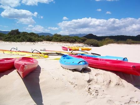 Canoeing in Sardinia