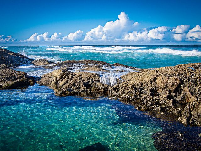 Champagne Pools Fraser Island by Micheal Lovett, via Flickr