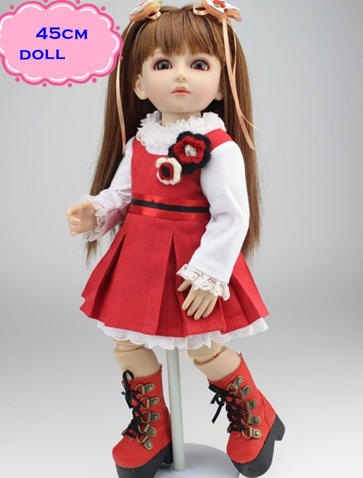 71.68$  Watch here - http://alixyz.worldwells.pw/go.php?t=32694422275 - Top Quality 18inch BJD Doll Of NPK Bonecas Reborn De Silicone With One Set Pretty Clothes Handmade Baby-reborn For Various Gifts
