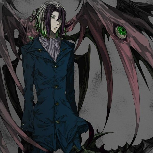 Tags: Demon, Majin Tantei Nougami Neuro, Nougami Neuro, Eyes In Odd Places, Black Gloves, Pixiv Id 421338