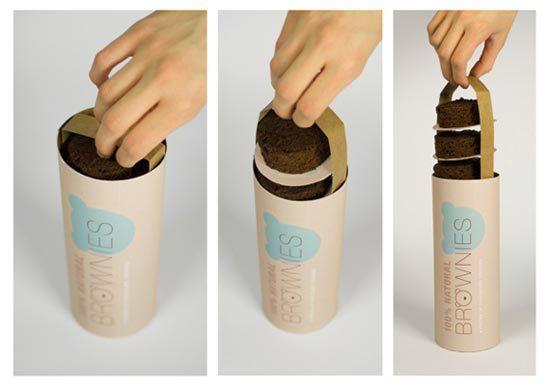 Konsep Desain Kemasan - Brownies