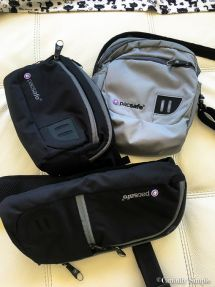 @PacSafe bag options for our Italy trip! Go to Cinfully Simple for Pickpocket Proof Product Links!