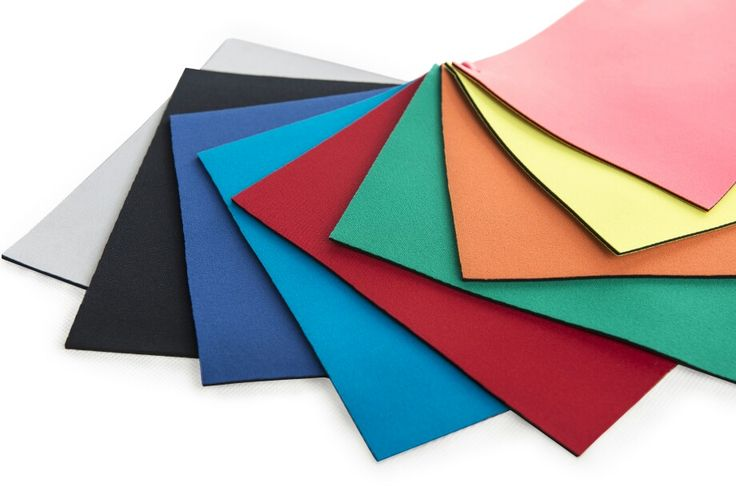 Our Neoprene colors