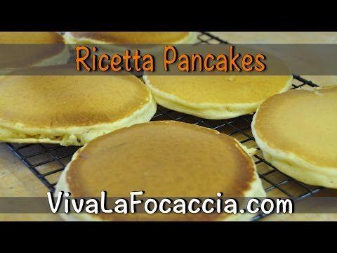 Ricetta Pancakes Americani - VivaLaFocaccia - Le migliori ricette per il pane e la pizza fatte in casa