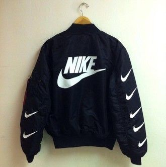 jacket mens bomber jacket nike sweater nike black bomber jacket nike bomber…