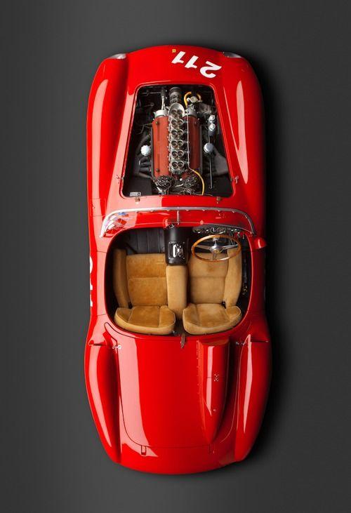 1957 Ferrari 625 TRC Spider #vintage #ferrari