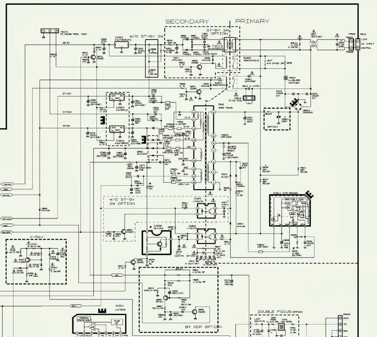 Lg Tv Circuit Diagram Free Download