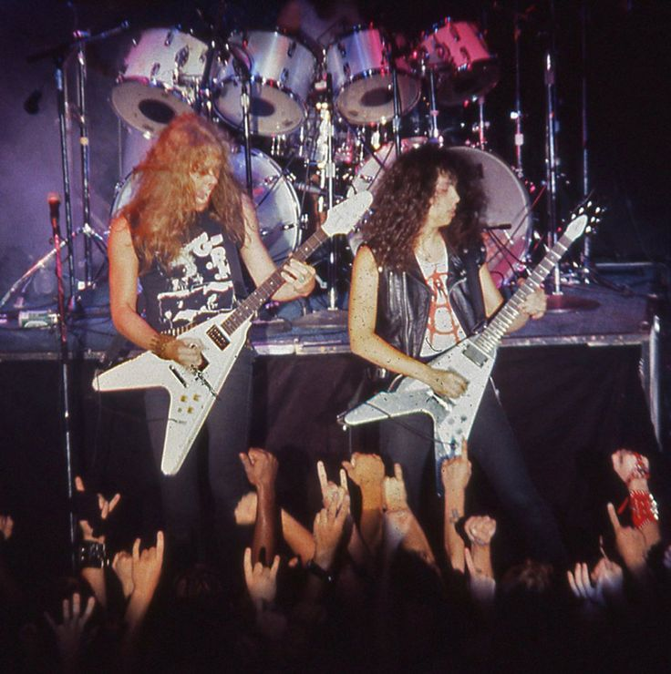 Metallica live in NYC 1983