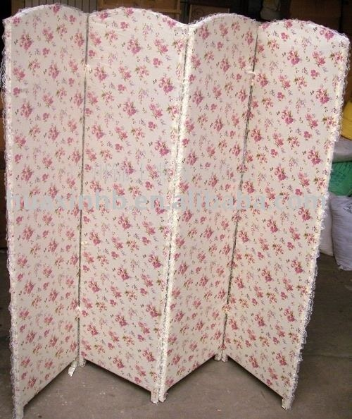 shabby chic room divider screen