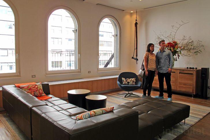BoConcept Veneto chair & Milos sofa
