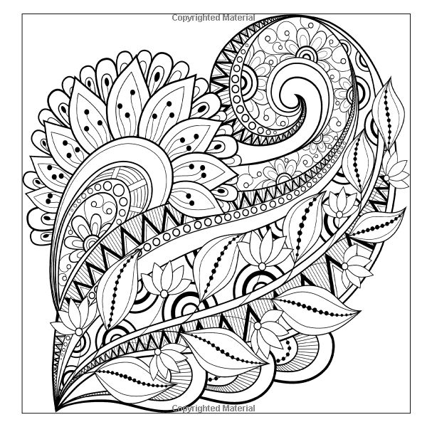 Detailed Patterns & Beautiful Designs Adult Coloring Book ...Detailed Mandala Coloring Pages For Adults