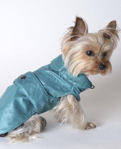 Abrigo para perro Willie verde