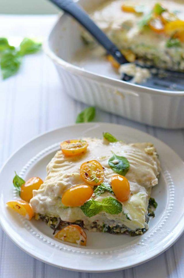 野菜で作った『茄子とズッキーニのラザニア』はヘルシーで栄養満点!