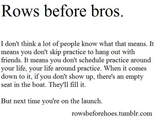 rows before bros:)