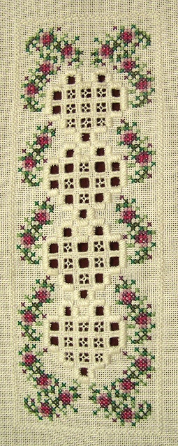 Hardanger Bookmark by Allisona, via Flickr