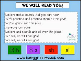 Kathy Griffin's Teaching Strategies: Phonics They Will Remember