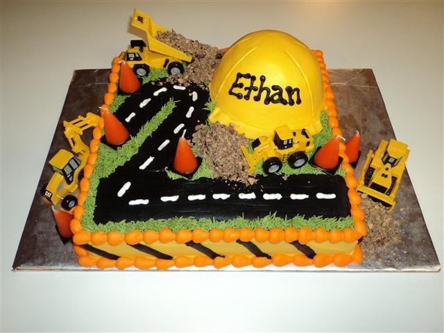 Boys BirthdayConstruction Theme, Birthday Parties, Construction Parties, Construction Birthday, Cake Ideas, Boys Birthday, Parties Ideas, 2Nd Birthday, Birthday Cake