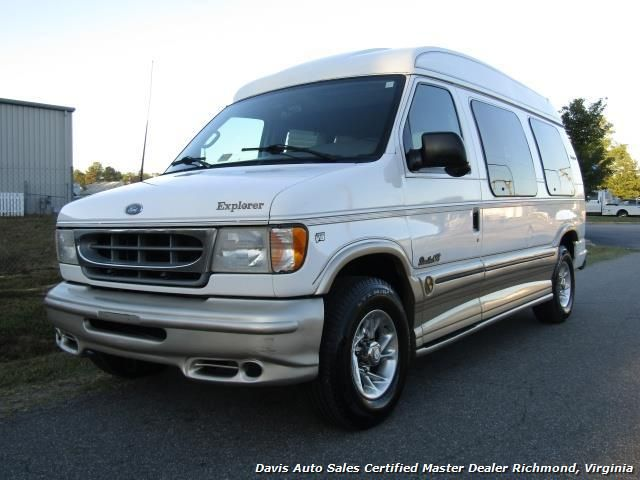 2001 Ford E-250 Econoline Ton Conversion High Top Explorer Custom Limited SE $9,995   - View more information and inventory at www.davis4x4.com