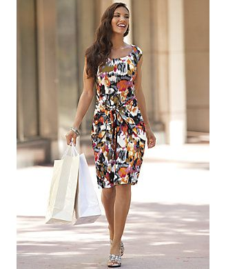 Ikat bright dress from monroe and main a bright new take on a