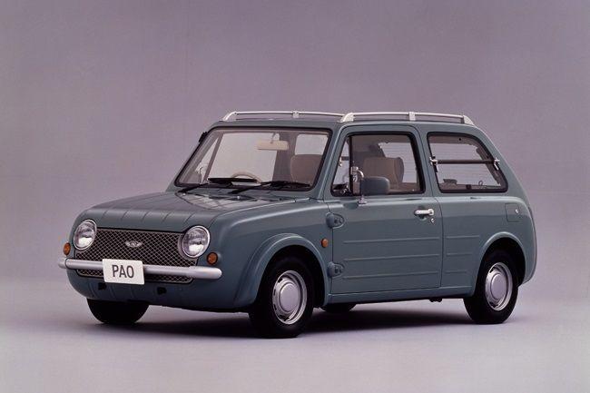 世界の自動車デザインに影響を与えたといわれている 日産自動車のパイクカー シリーズ レトロ調 先鋭的 とスタイリングが特徴的なクルマである 1987年のbe 1のヒットを受け 89年にその第2弾として発売されたモデルがパオだった ベースは初代のマーチで スタイル