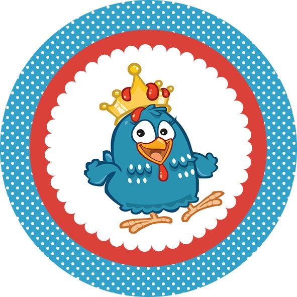 Resultado de imagen para etiquetas de la gallina pintadita