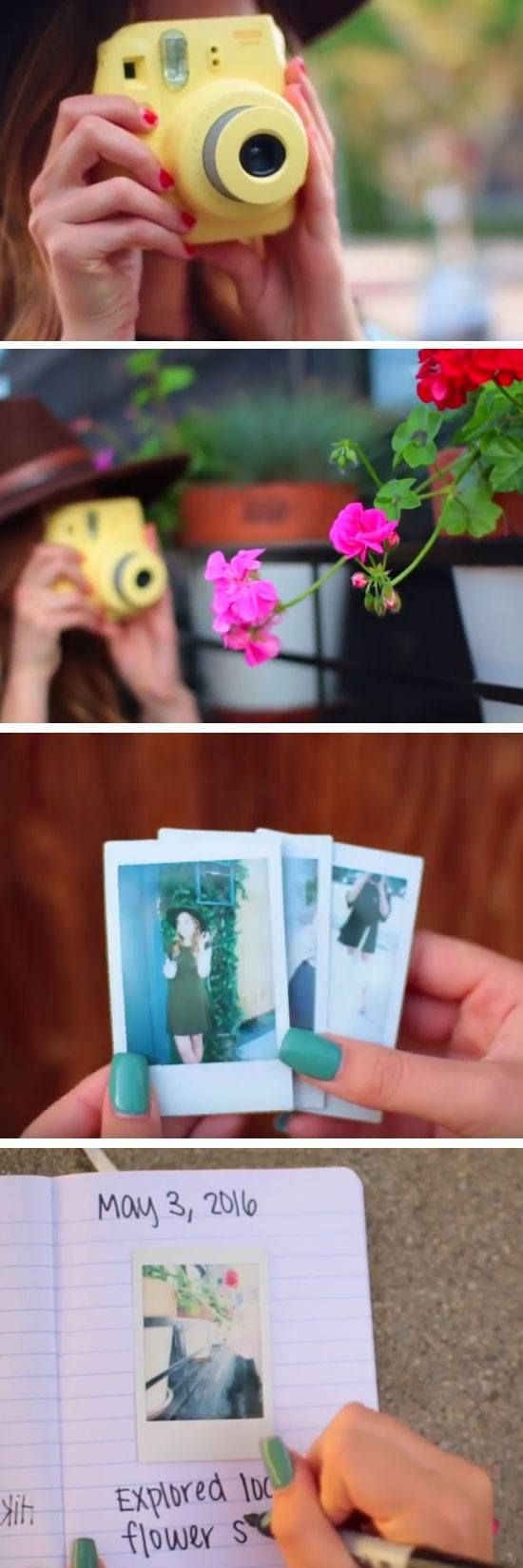 Make a Picture a Day Scrapbook | Summer Fun Ideas for Teens Bucket Lists you will want to share on Facebook!