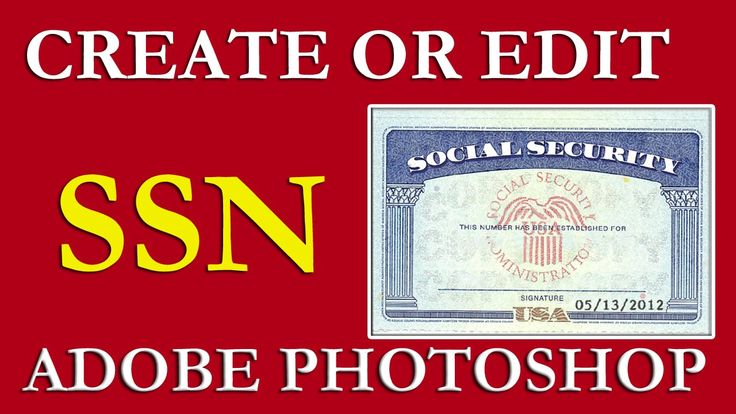 How To Edit Ssn Ssn Pdf Template Download Free On Vimeo In Fake Social Security Card Template Down In 2020 Social Security Card Card Templates Free Business Template