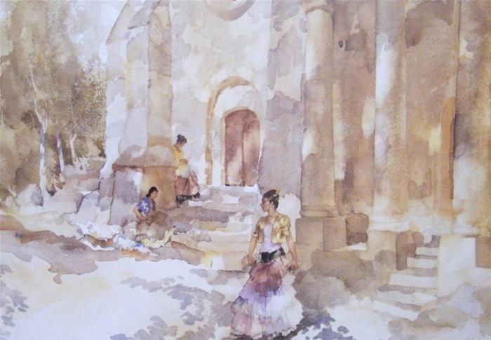 Gypsies Outside a Church  danza