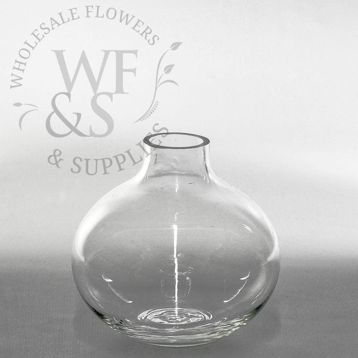 Round Glass Bud Vases