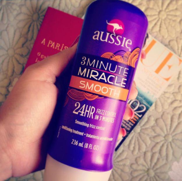 Mascarilla Miracle Smooth, de Aussie. | 15 Productos para las chicas con pelo esponjado que en verdad funcionan
