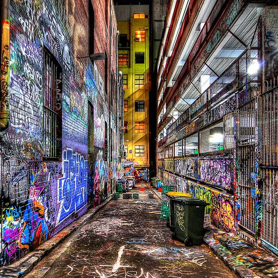 Hosier Lane, Melbourne Australia