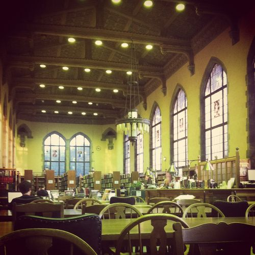 Northwestern University. See More. Deering Library Reading Room Part 51