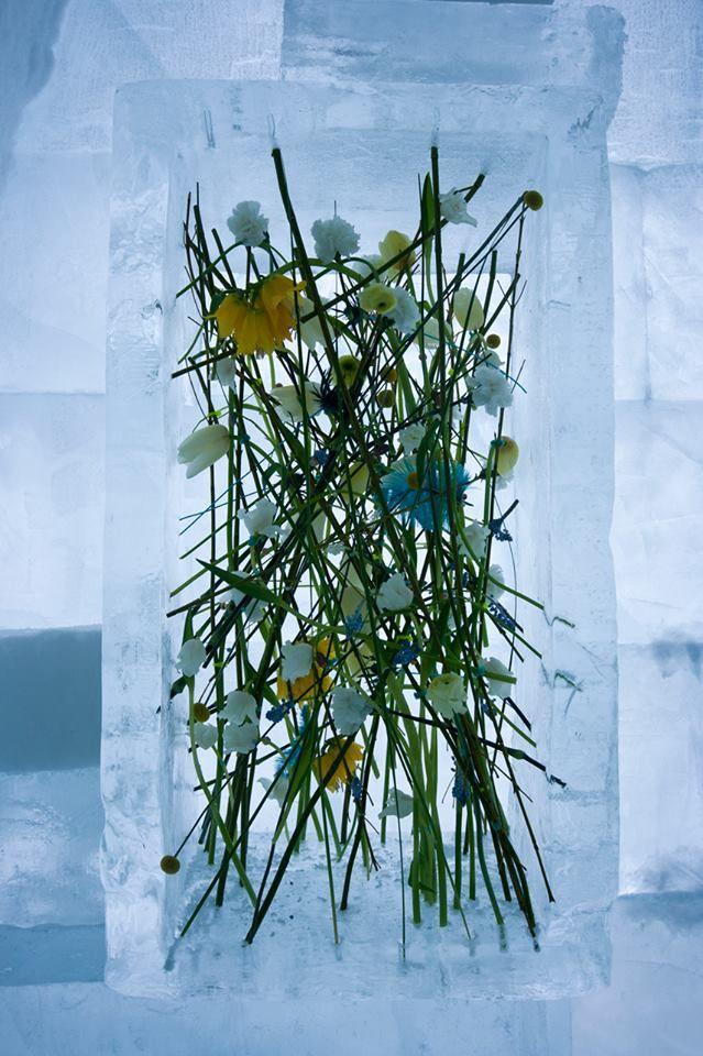 Amazing piece of floral art by Per Benjamin.