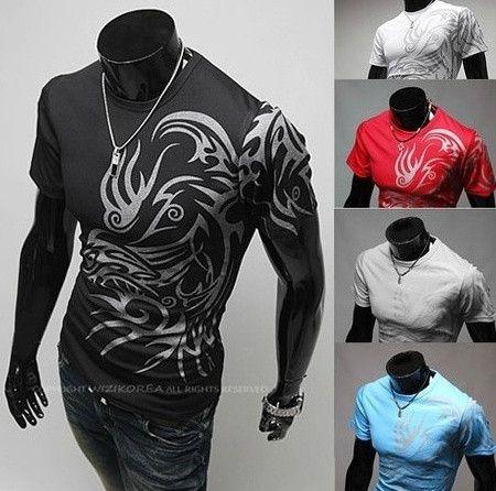 Willstyle Tribal Dragon Totem Tattoo T-Shirt