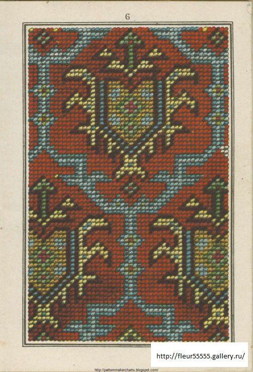 Gallery.ru / Фото #10 -  309 - Fleur55555 - Album de Tapisserie  Maison Sajou No 309 (07 of 10)