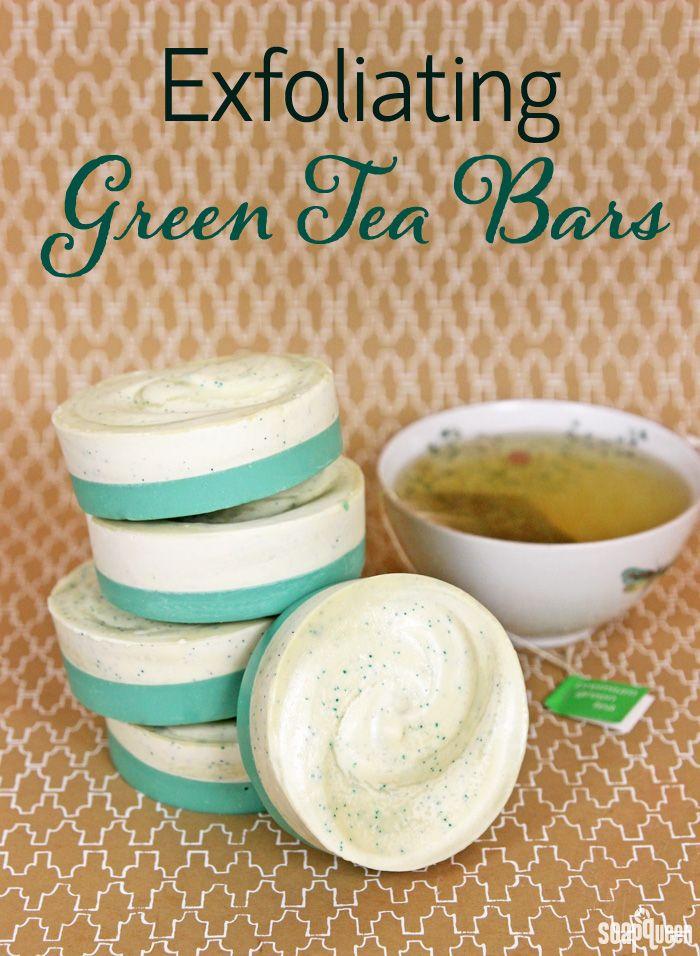 Exfoliating Green Tea Bars DIY