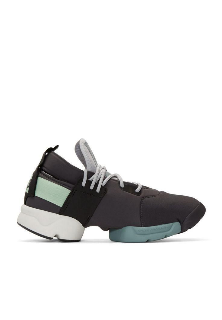 Y-3 Grey Kydo Sneakers from SSENSE (men, style, fashion, clothing, shopping, recommendations, stylish, menswear, male, streetstyle, inspo, outfit, fall, winter, spring, summer, personal)