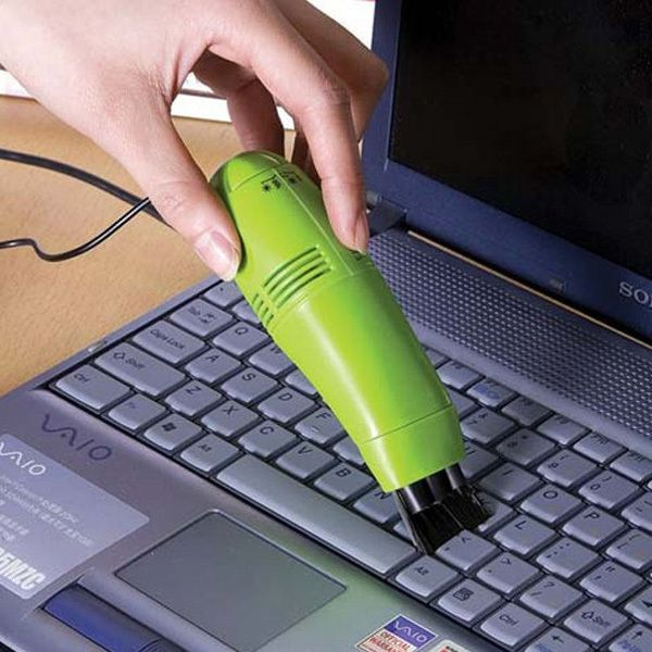 Great New USB brush flexible rubber keyboards cleaner MiniUSB Computer Vacuum Cleaner for for PC Laptop Computer