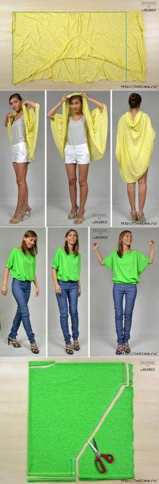 5 blusas de punto con sus manos sin dibujo