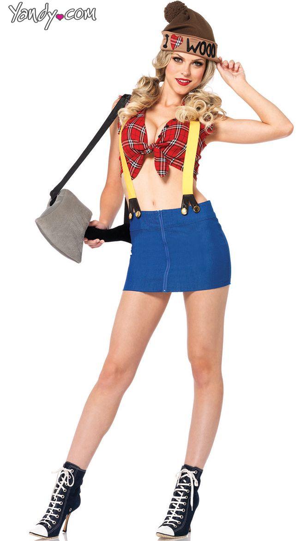 sexy lumberjack costume female lumberjack costume lumber jackie costume - Sundrop Halloween Costume