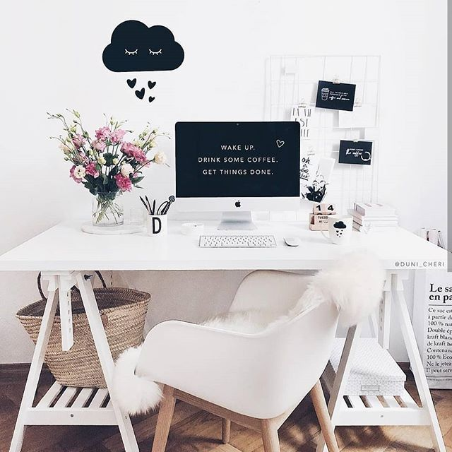Why You Can Write Naturally And Still Have Good Seo Have You Ever Read A Blog Post That Is Talking Ab Ikea Office Desk Scandinavian Office White Desk Office