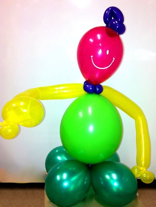 This cheeky little balloon party friend will set the scene. Instead of plain balloons, have this little buddy greet your little party guests as they come through the front door! The kids will make their own fun. Available in any colours you like for our Melbourne customers.