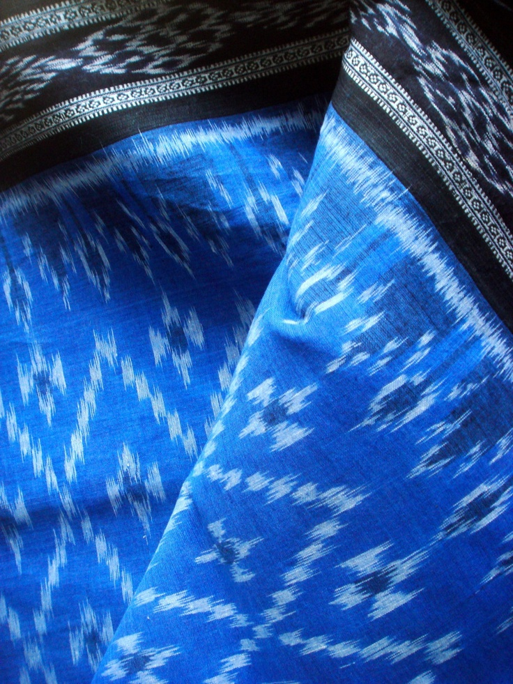 pochampally (Andhra) handloom saree Another elegant combination of colors
