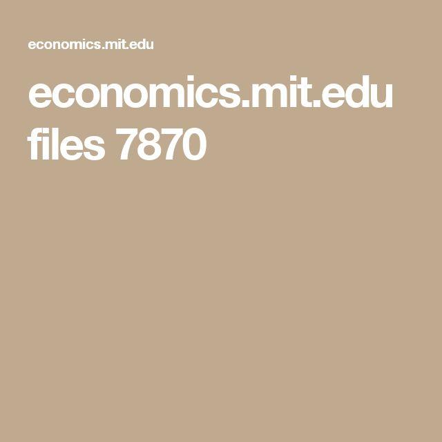 economics.mit.edu files 7870