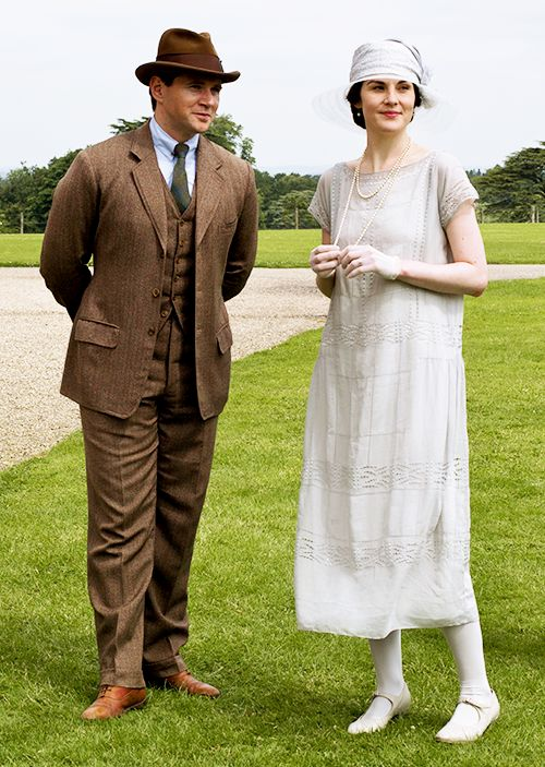 Downton Abbey hats and costumes- Tom & Mary