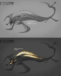 Image result for subnautica stalker concept art