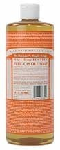 Dr. Bronner - Castile Soap Tea Tree, 16 oz liquid